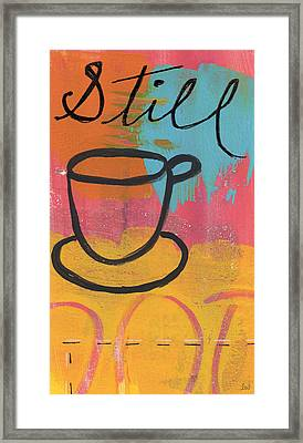 Still Framed Print by Linda Woods