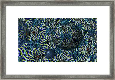 Still Motion Framed Print