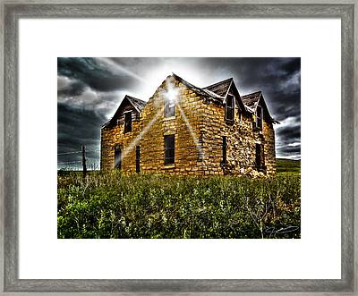 Still Occupied Framed Print