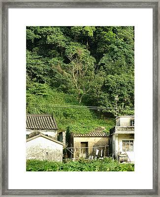 Still Occupied Framed Print by Kathy Daxon