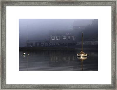 Still Of Morning  Framed Print
