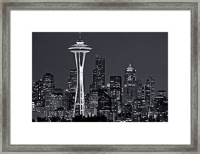 Still Of The Night Framed Print by Dan Mihai