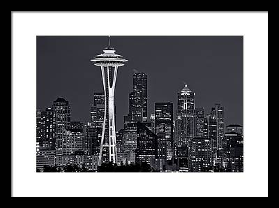 Seattle Framed Prints
