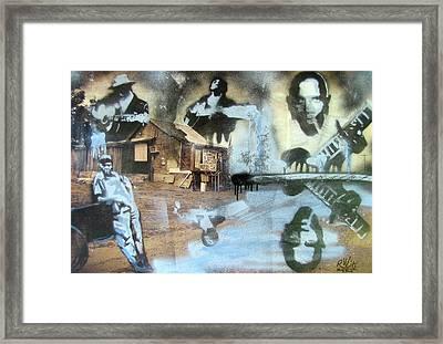 Still Raining Blues Framed Print