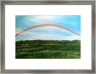 Still Searching For Somewhere Over The Rainbow? Framed Print