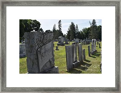 Still Standing Framed Print