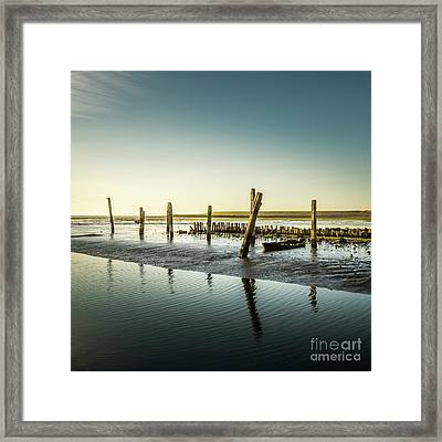 Framed Print featuring the photograph Still Standing by Hannes Cmarits