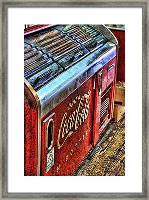 Still The Real Thing Framed Print by Joetta West