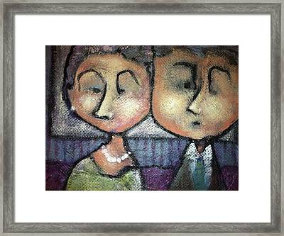 Still Together Framed Print