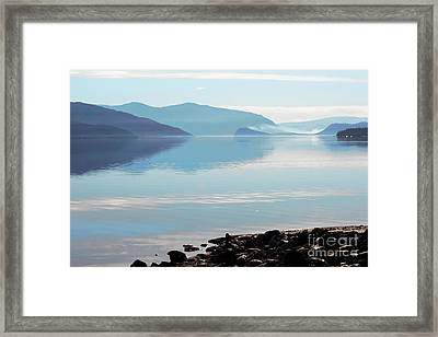 Framed Print featuring the photograph Still by Victor K