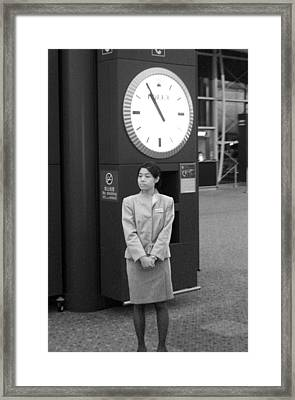 Still Waiting For You Framed Print by Jez C Self
