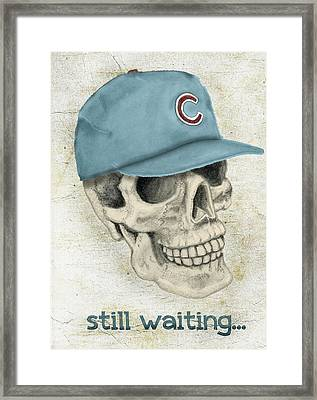 Still Waiting Too Framed Print by Larry Scarborough