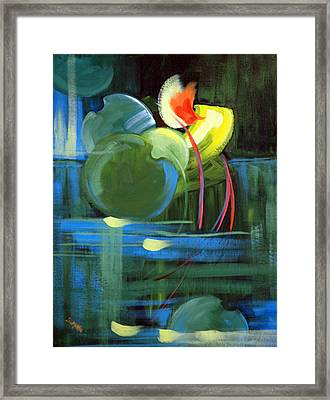 Still Water Framed Print by Suzanne McKee