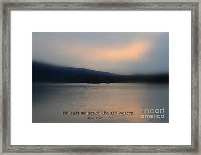 Still Waters Framed Print by Debra Straub