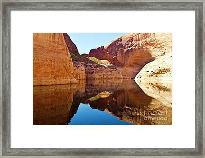Still Waters Framed Print by Kathy McClure