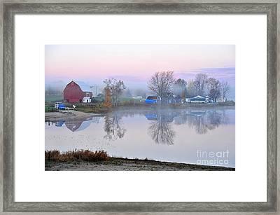 Still Waters On Stoneledge Lake Framed Print