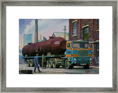 Stillers Volvo F88 Framed Print by Mike  Jeffries