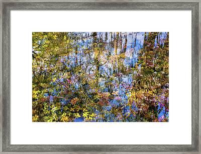 Stillness Holds Everything Framed Print