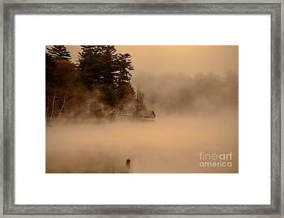 Stillness Of Autumn Framed Print