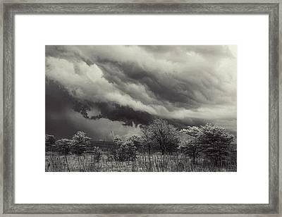 Stillness Of The Storm Framed Print