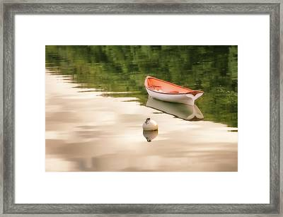 Framed Print featuring the photograph Stillness by Thomas Gaitley