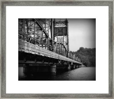 Stillwater Bridge  Framed Print