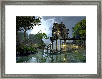 Stillwater Framed Print
