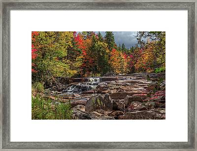 Stillwaters Falls Framed Print