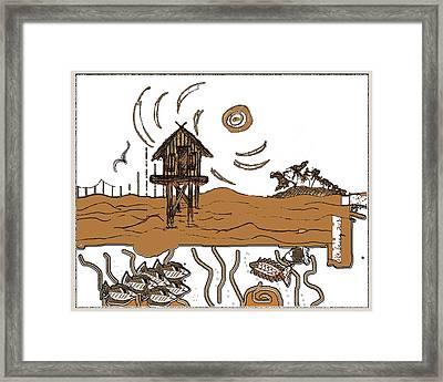 Stilt House Framed Print