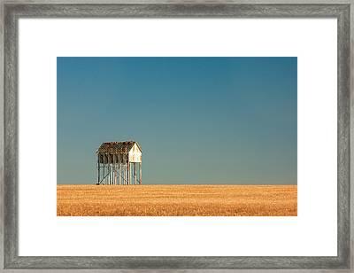 Stilts Framed Print by Todd Klassy