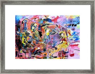 Stimuli Framed Print