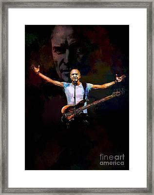 Framed Print featuring the digital art Sting 1 by Andrzej Szczerski