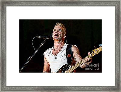 Sting Collection Framed Print