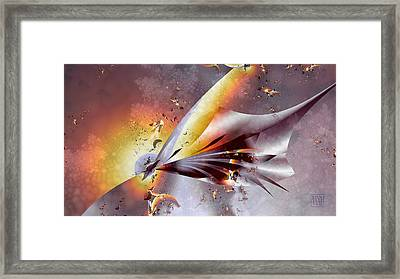 Stingray Framed Print by Dan Turner
