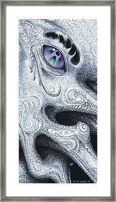 Stippledreamer Slice Framed Print by J P Lambert