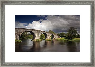 Stirling Bridge Framed Print