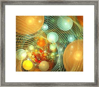 Stirred Up Universe Framed Print