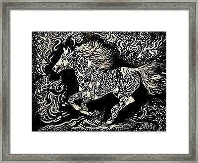 Stirring Up Stardust Framed Print
