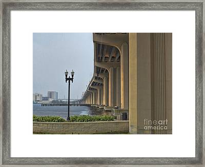 St. John's  River View Framed Print by Luther Fine Art
