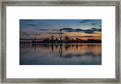 Stl Cityscape Framed Print by Jae Mishra