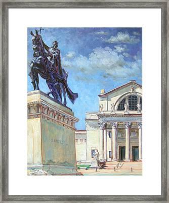 St.louis Art Museum Framed Print
