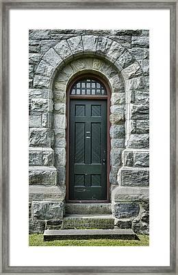 Stockbridge Chime Tower Door Framed Print by Stephen Stookey