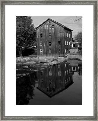 Stockdale Mill Framed Print by Michael L Kimble