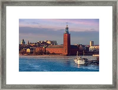 Stockholm City Hall Framed Print