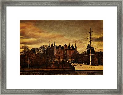 Stockholm In Autumn IIi Framed Print by Ramon Martinez