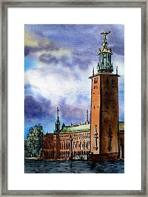 Stockholm Sweden Framed Print