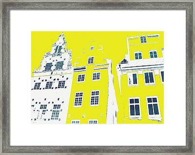 Stockholm Windows Framed Print by Linda Woods