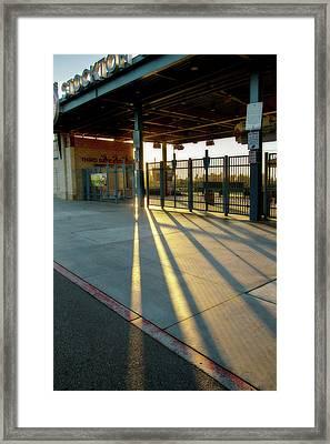 Stockton Ball Park 2 Framed Print