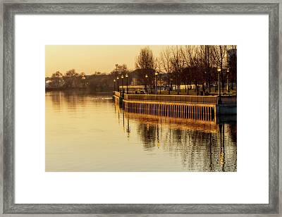 Stockton In Autumn 1 Framed Print