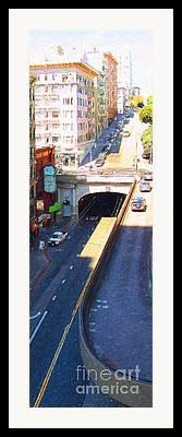 Sutter Street Framed Prints